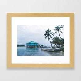 Island Retreat Framed Art Print