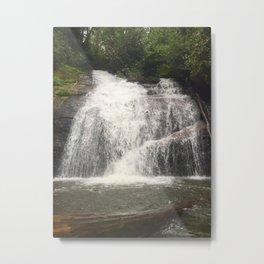 Hemlock Falls Metal Print