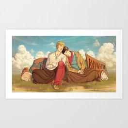 Bohemians Art Print