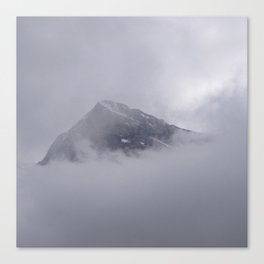 Eiger and Clouds Canvas Print