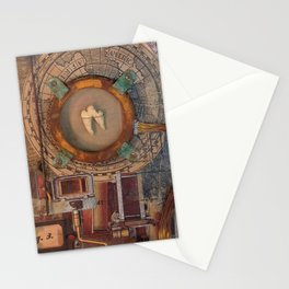 St Badger Reliquary  Stationery Cards