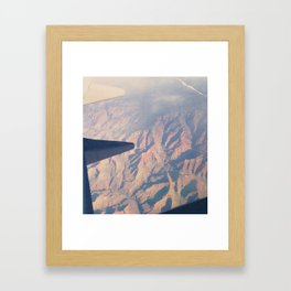 From the Air. Framed Art Print