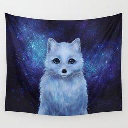 Arctic Fox Wall Tapestry