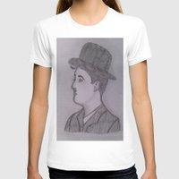 charlie chaplin T-shirts featuring Charlie Chaplin by Natasha Lake
