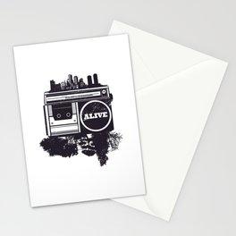 Hip Hop Alive Stationery Cards