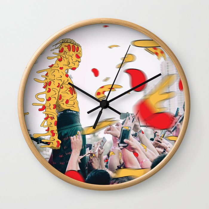 XXXpizza Wall Clock