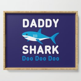 Daddy Shark Serving Tray