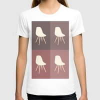 eames T-shirts featuring Eames x 4 #1 by bittersweat
