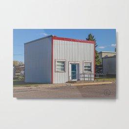 Post Office, Goodrich, North Dakota 2 Metal Print