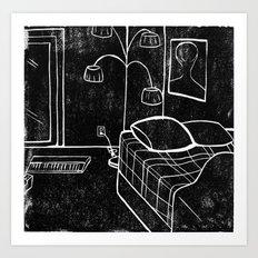 Sunny Vancouver (Subtractive Cut) Art Print