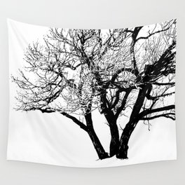 Winter in Quebec Wall Tapestry
