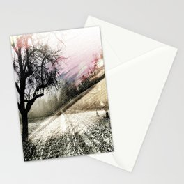 autumn twilight Stationery Cards