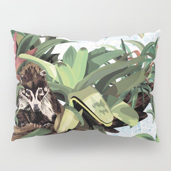 Ring tailed Coati Pillow Sham
