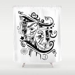 Zodiac - Gemini Shower Curtain