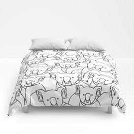 Minimalist Koala Comforters