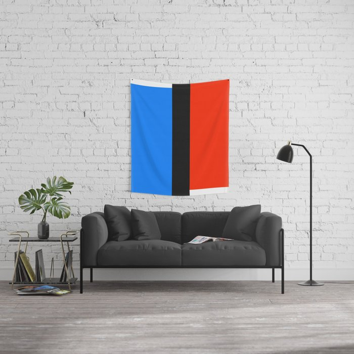 Mid Century Modern Vintage 13 Wall Tapestry