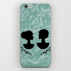 silhouettes iPhone Skin