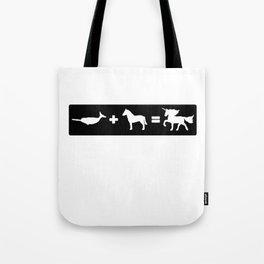Narwhal + Horse = Unicorn Tote Bag