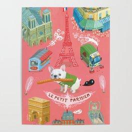 """""""Le Petit Parisien""""  Poster"""