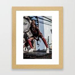 Buskwick Zoo  Framed Art Print