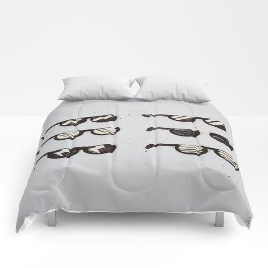 Oreo Sunglasses Comforters