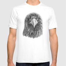 Eagle SK069 Mens Fitted Tee White MEDIUM