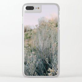 Desert Blush Clear iPhone Case