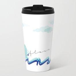 Brush Floss Rinse Travel Mug
