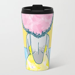 Chomba mirando al mar Travel Mug