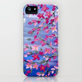 Cherry blossom Branches iPhone Case