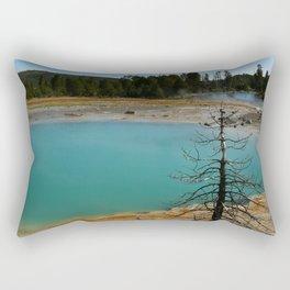Amazing Hot Spring Colors Rectangular Pillow