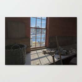 Oyster Life Canvas Print