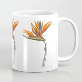 Bird of Paradise 01 Botanical Flower Coffee Mug
