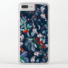 FUTURE NATURE XII Clear iPhone Case