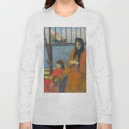 Schuffenecker Family by Paul Gauguin Long Sleeve T-shirt