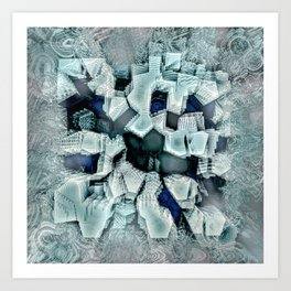 Ice Breaker Art Print