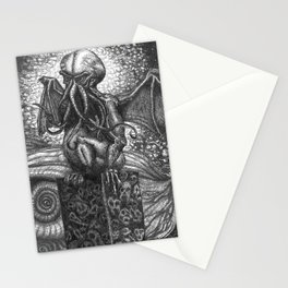 They Had Come From The Stars (...and had brought Their images with Them) Stationery Cards