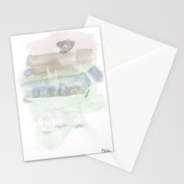 Garden Maddness 3 Stationery Cards