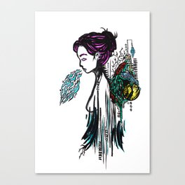 Heavy Sigh Canvas Print