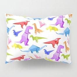 Origami Dinosaurs Pillow Sham