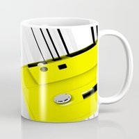 cassette Mugs featuring Cassette by Delaney Digital