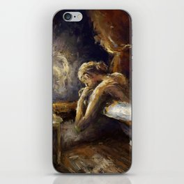 The Burnout. iPhone Skin