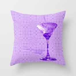 Cocktail for one Throw Pillow