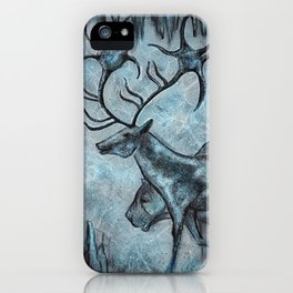 Crystal Cavern Procession iPhone Case