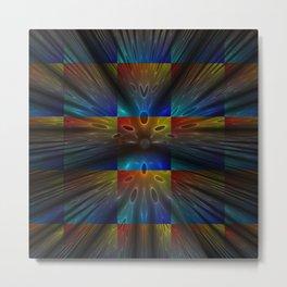 Colouradio Metal Print