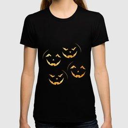 Scary jack-o-lantern T-shirt