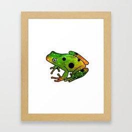 Frog I Framed Art Print