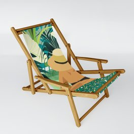 Chill #illustration #travel Sling Chair