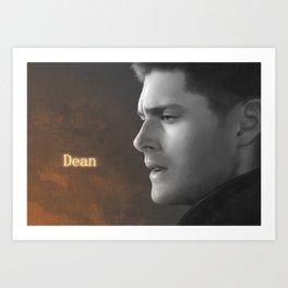Dean Winchester - Supernatural Art Print