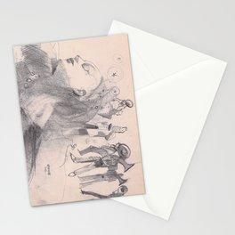 danza5 by nicolas Perruche Stationery Cards